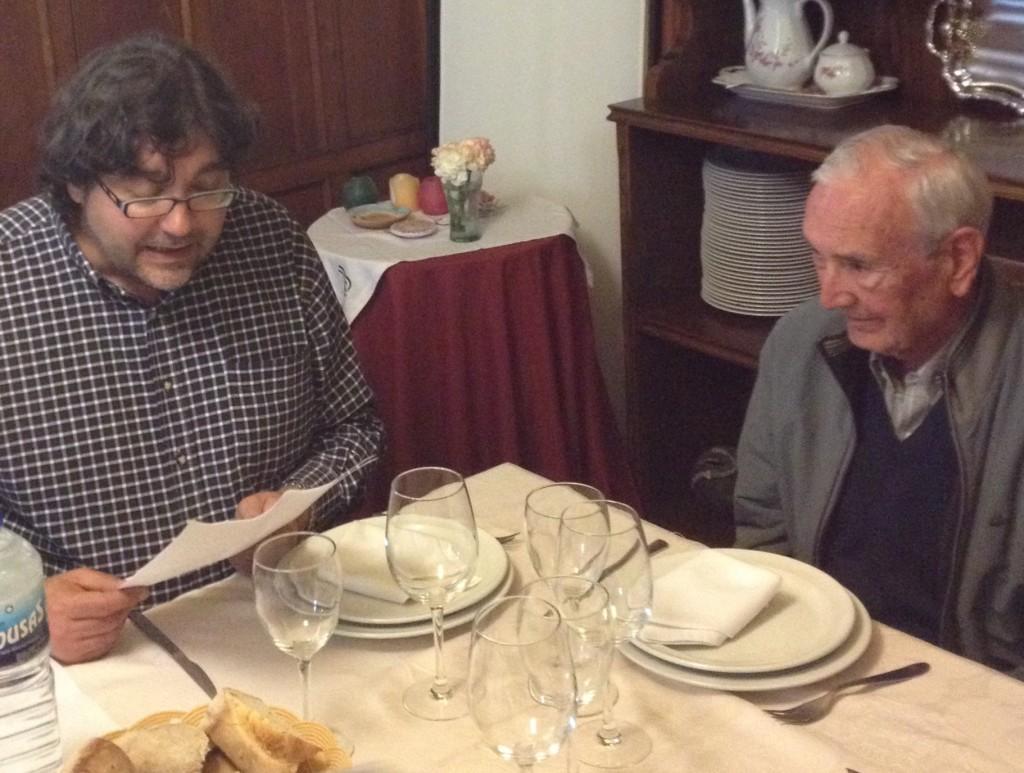 Americo Vázquez Vuelta con Manuel Cuenya