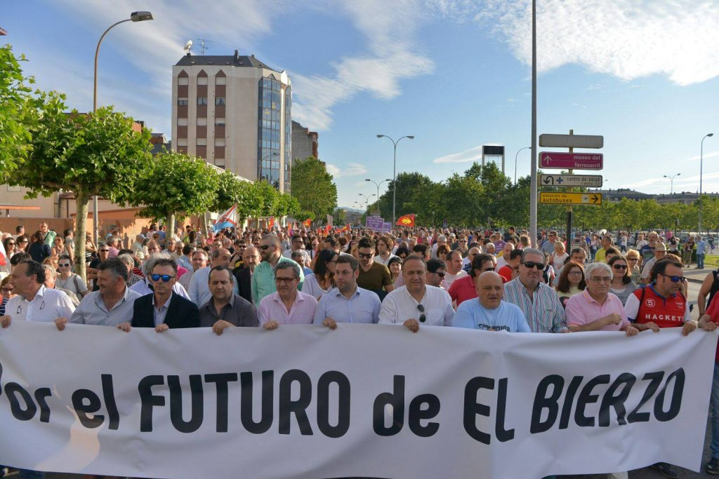Manifestación Por El Futuro del Bierzo
