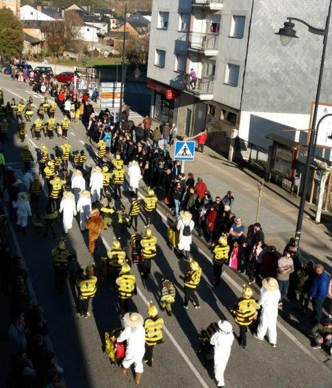 Desfile Carnaval Toreno 2018 Plumilla Berciano