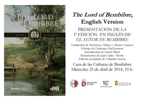 The Lord Of Bembibre. PlumillaBerciano. Invitacion