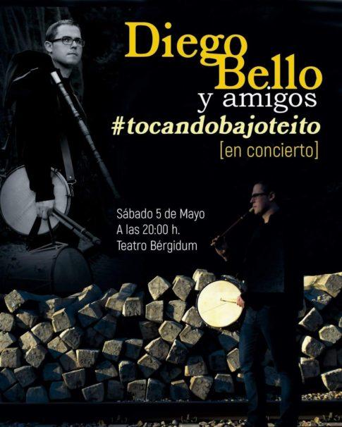 Diego Bello. #TocandoBajoTeito. Ponferrada. Plumilla Berciano